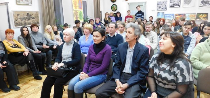 Відкриття виставки учнів ВХПТУ №5 «Мистецька молодь»