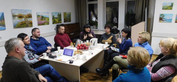 Літературна зустріч «Соборна мати Україна – одна на всіх, як оберіг» до Дня Соборності України