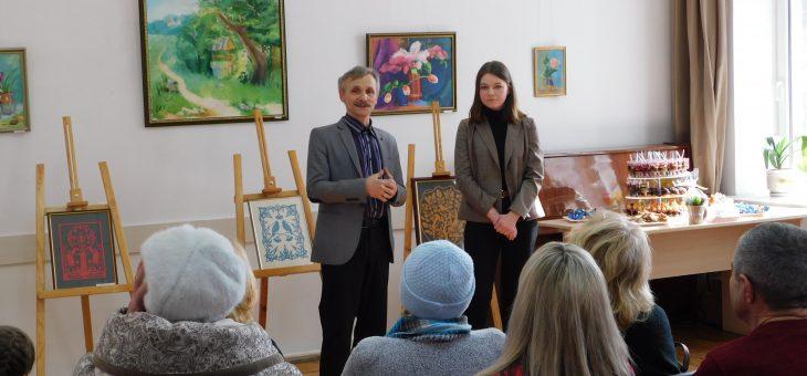 Відкриття виставки живопису, графіки та авторської ляльки Ольги Драпіковської